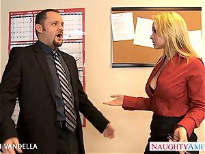 cool Sarah Vandella gives oral sex