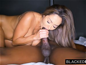 BLACKEDRAW Ava Addams Is pulverizing big black cock And Sending photos To Her hubby