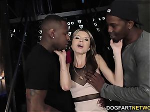 Gina Gerson bi-racial double penetration - hotwife Sessions