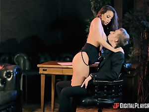 Abigail Mac takes on the monster trunk of Danny D