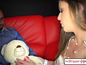 TheStripperExperience- Brooklyn is pummeled by a giant pecker