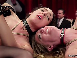 buxomy domme makes marionettes anal invasion pulverize