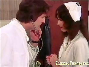 kinky medic plows her patient and her nurse
