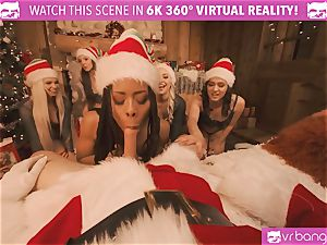 VRBangers Christams hump With Eight mind-blowing Elves