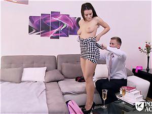 pornography ACADEMIE - american Lana Rhoades romps principal