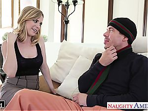 busty towheaded Penny Pax ravaging