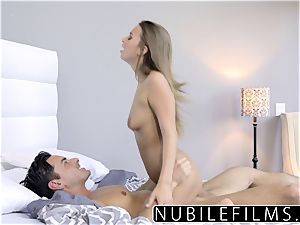 NubileFilms - cock-squeezing Coed drills And gulps