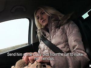 Victoria Puppy gets a strangers bone deep inside her