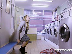 Private.com - Mia Malkova gets boned in the laundry