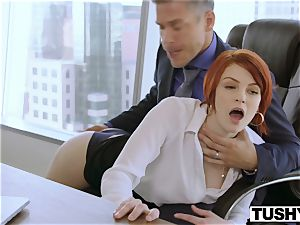 TUSHY Bree Daniels first-ever anal bang-out gig