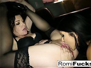 splendid gimp Romi lets tormentor Sovereign dominate her