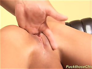 red-hot babe gets crazy drilled