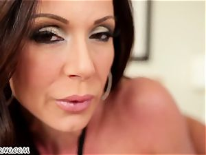 50-year-old porn starlet Kendra lust with huge knockers chooses to inhale