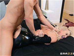 Brandi enjoy banged in her wet vulva