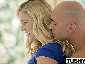 TUSHY very first anal For Cherie Deville and Samantha Rone