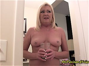 mommy Plays with Herself The Has pee piss play Time