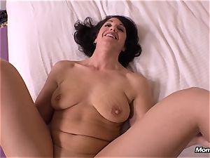 innocent brunette cougar cheating internal ejaculation dream
