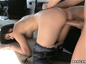 Mandy Sky picked up and nailed