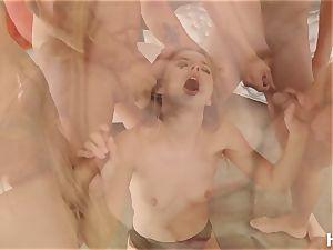 HardX Jillian Janson In '1st Blowbang'