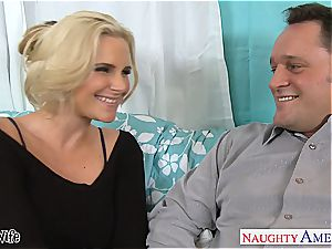 super-fucking-hot wifey Phoenix Marie gets pink cooter penetrated