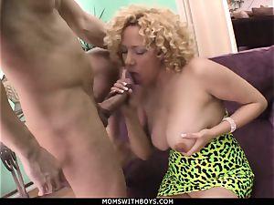 milf Michelle babe huge boobed Get jizm Showered