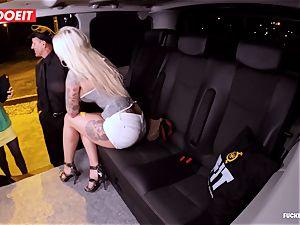 LETSDOEIT - successful cab Driver Bones 2 steaming Blondes