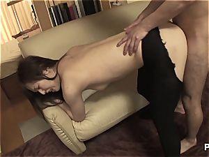 Uncensored internal ejaculation in HD!