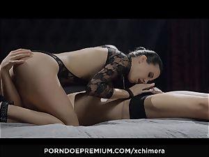 xCHIMERA - sensuous stunner puss creampie in fetish gig