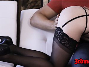 ginger-haired succubus Penny Pax drilled into blasting