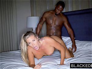 BLACKEDRAW blondie trophy wifey Cucks Her husband With big black cock