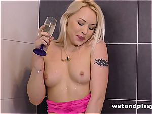 She loves her own urinate when turned on the right way