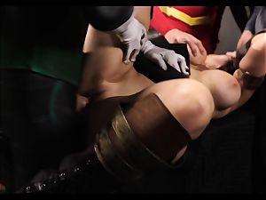 Justice League xxx part five - Hero romp with Romi Rain
