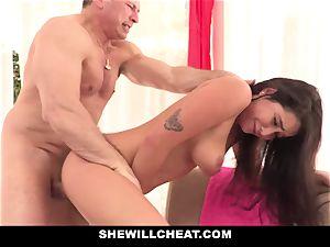 SheWillCheat hotwife girlfriend Karlee Grey romps Trainer
