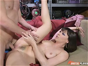 Dana DeArmond gets her fantastic taut vag gobbled and toyed with