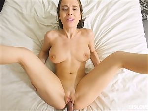 Lana Rhoades playing with her step step-brother