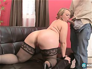 Brandi Sparks, gigantic booty pawg, curvaceous Gettig banged