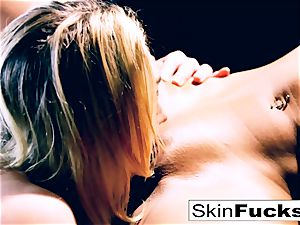 crazy spectacular lesbians smoking and humping each other