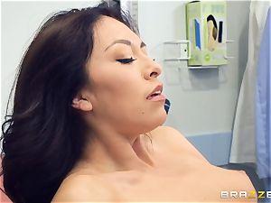 Kara fake medical coochie check up