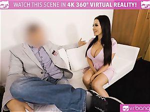 VR PORN-Hot black pummeled firm on valentines day stud pov