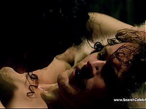 Caitriona Balfe in sizzling sex vignette from Outlander