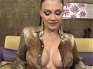 girl lubed Up For A dp