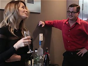 The Job Sn 7 insane hook-up with Asa Akira and friends