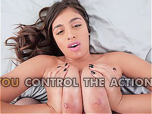 Ella Knox - ample globes in activity point of view