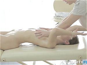 messy Flix - Aruna Aghora - massage and ass fucking delectation