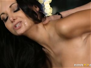Ava Addams gets a packing from the pool boy