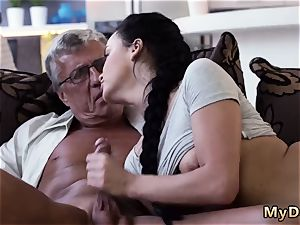 Homemade elderly man and unshaved What would you choose - computer or your girlassociate?